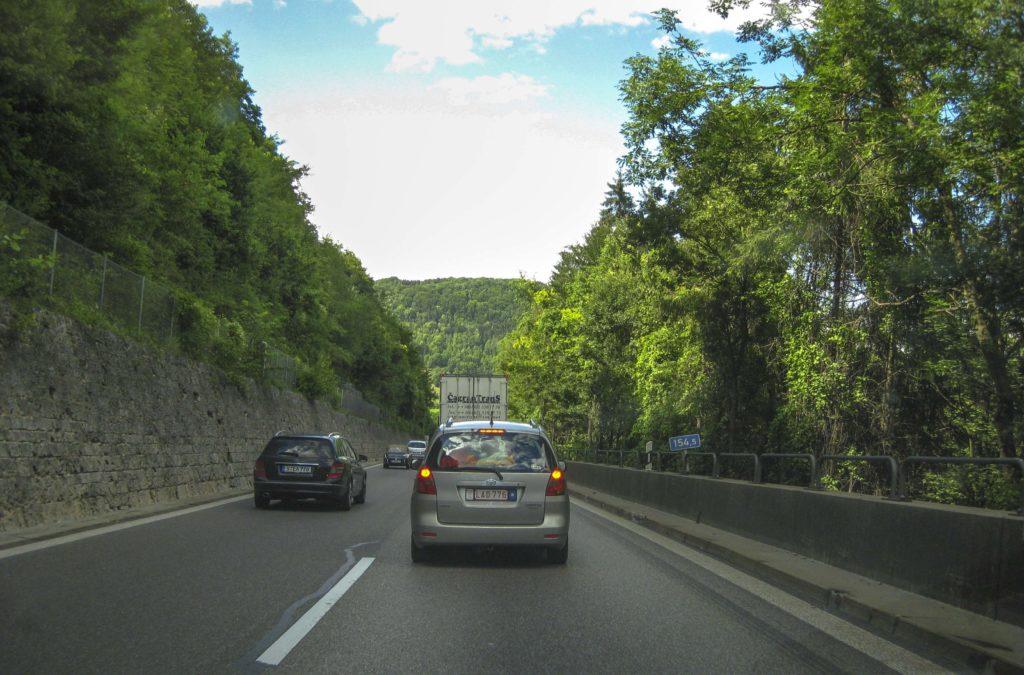 Autobahn Stuttgart