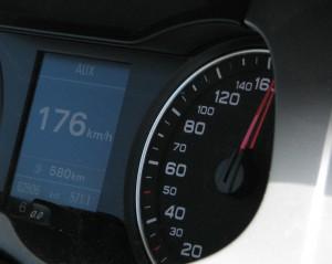 Hastigheter på Autobahn
